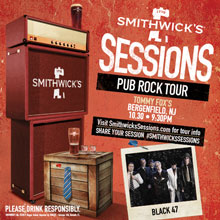 Black 47 final date on the Smithwick's Sessions Tour