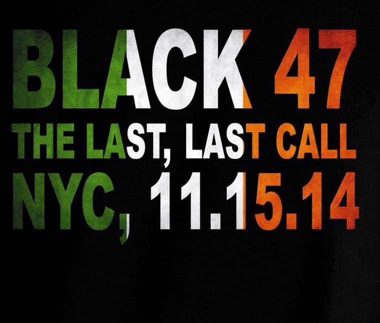 Black 47 Last Call Logo